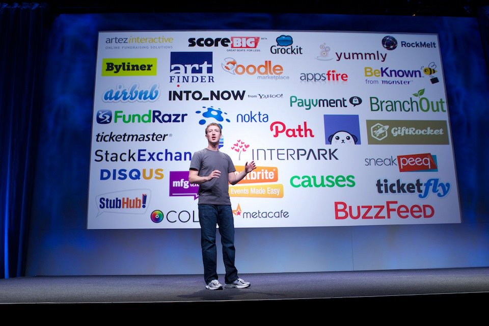 Mark Zuckerberg at F8 2011